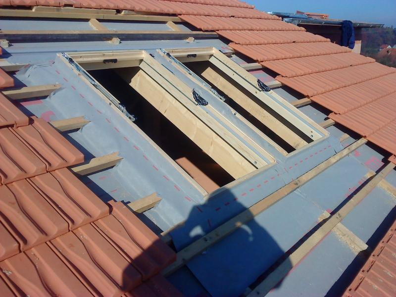 Montáž střešních oken velux